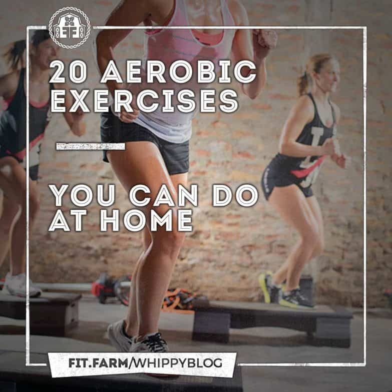 20 Aerobic Exercises You Can Do At Home - Fit Farm!