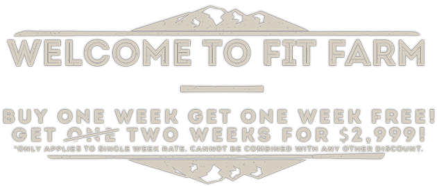 Fit Farm! Not Fat Camp! An Affordable Weight Loss Camp for Adults! Discounts...