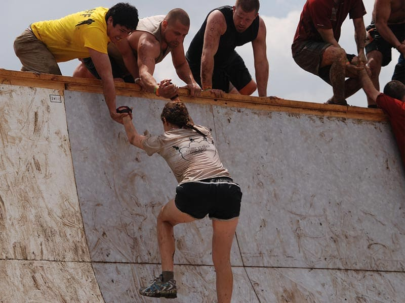 tough mudder race training